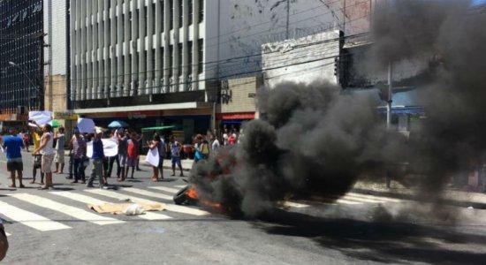 Ambulantes do Centro do Recife prometem mobilização por toda quarta