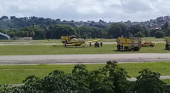 Pista do aeroporto do Recife é liberada após interdição