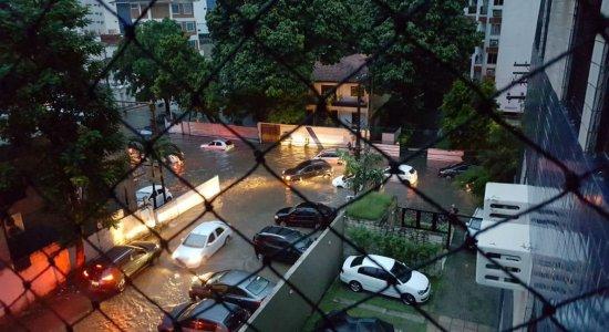 Apac emite alerta de chuva forte no Grande Recife e Mata Sul do Estado