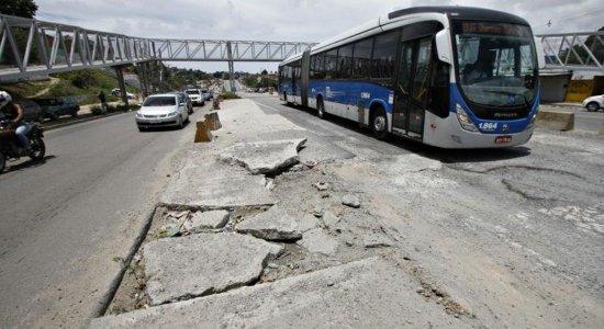 Após 20 dias de interdição, BRT volta a funcionar em Olinda