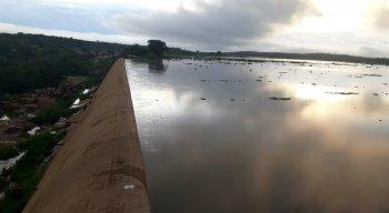 Barragem de Brotas está com 90% da capacidade que é capaz de armazenar