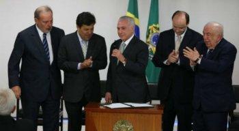 Presidente Michel Temer sanciona Projeto de Lei que cria universidade.