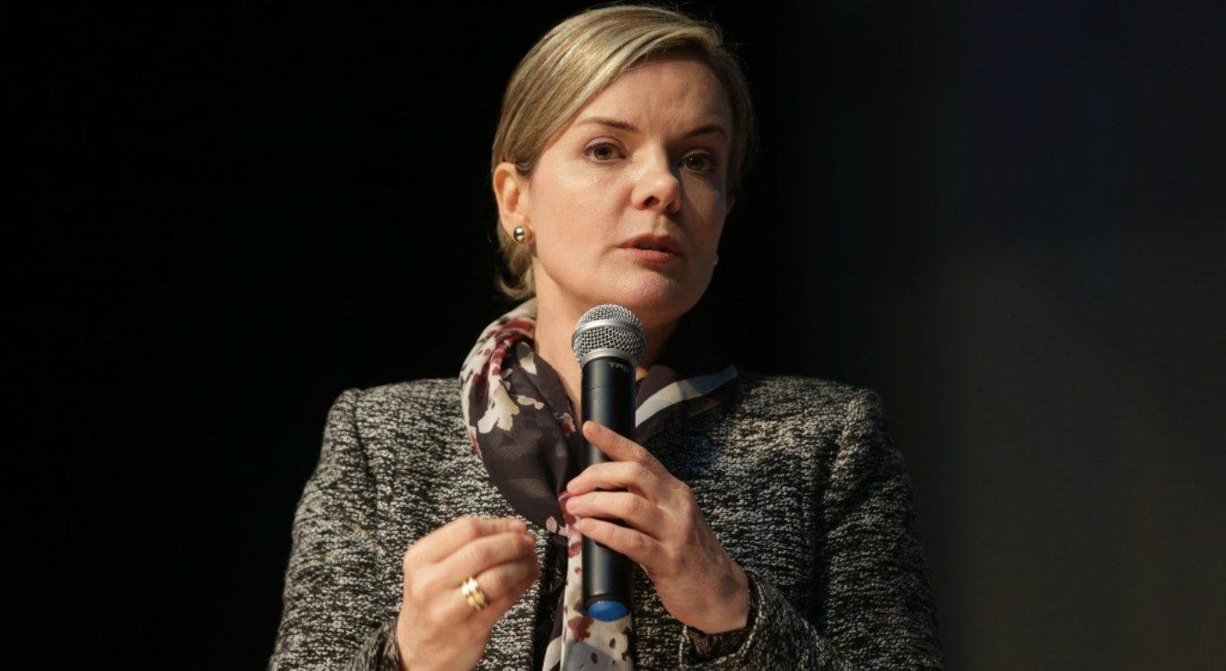 Gleisi Hoffmann é presidente nacional do Partido dos Trabalhadores