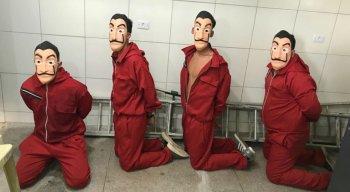 Youtubers foram levados para a Delegacia do Paulista