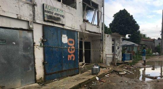 Vítima de explosão com botijão de gás morre no Hospital da Restauração