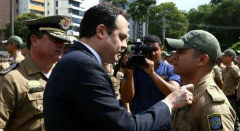 Governador Paulo Câmara também participou da cerimônia