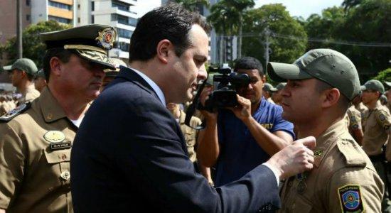 Paulo Câmara volta atrás e decide adiar convocação de aprovados em concursos de polícias