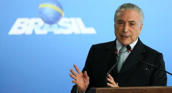 Presidente Michel Temer defende o governo em pronunciamento