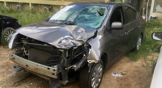 Motorista que atropelou e matou skatista é encaminhado para o Cotel