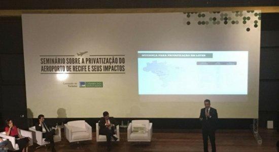 Seminário aborda modelo de privatização do Aeroporto do Recife
