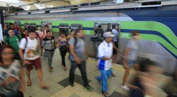 Aumento foi aplicado no sistema metroferroviário de cinco cidades