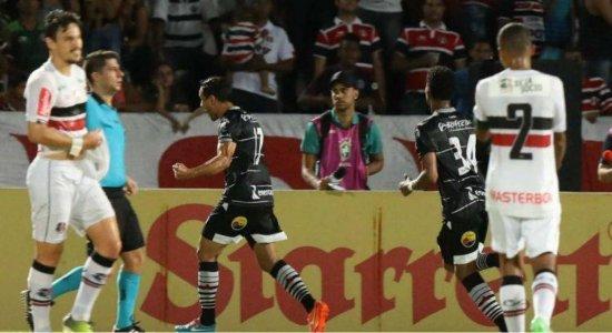 Em noite de viradas, Santa Cruz perde para o Botafogo-PB e sai do G4