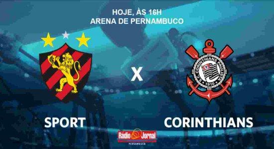 Ouça os gols do empate de Sport e Corinthians na voz de Aroldo Costa
