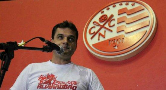 Diógenes Braga, vice-presidente de futebol do Náutico