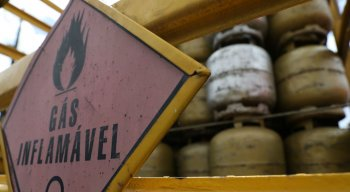 Botijões de gás ficaram escassos durante greve de caminhoneiros