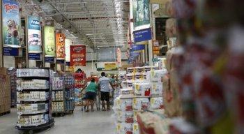 Supermercados estarão totalmente abastecidos da próxima segunda-feira (4)