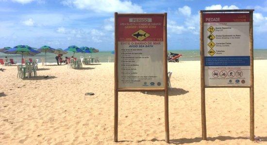 Ataque de tubarão: locais de risco terão reforço do Corpo de Bombeiros