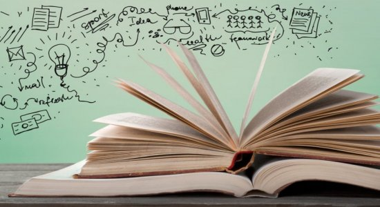 Quadro Literatura em Movimento traz tudo sobre a Bienal em São Paulo e a lista de livros mais vendidos