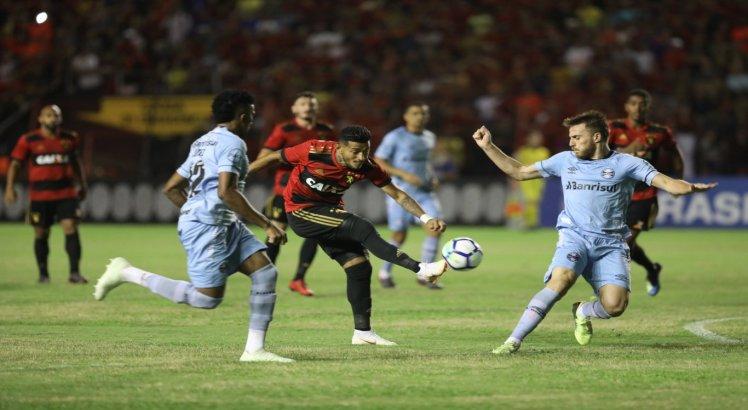 Sport e Grêmio não saíram do 0 x 0 na Ilha do Retiro
