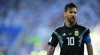 Craque Lionel Messi perdeu pênalti na partida