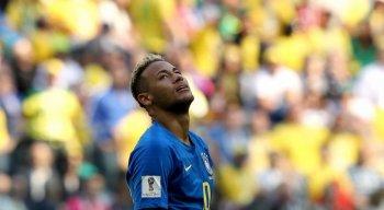 Gol de Neymar chegou aos 52 minutos do segundo tempo