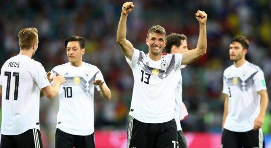 De forma dramática, Alemanha vira pra cima da Suécia e segue viva na Copa