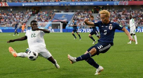 Japão e Senegal empatam por 2 a 2 e lideram Grupo H da Copa do Mundo