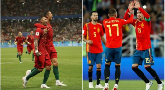 No sufoco, Portugal e Espanha se classificam para as oitavas
