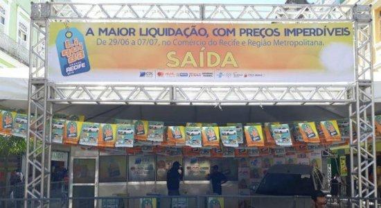 Com descontos de até 70%, Liquida Grande Recife quer aquecer comércio