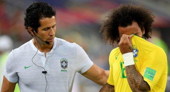 Médico explica contratura muscular que tirou Marcelo do jogo contra a Sérvia