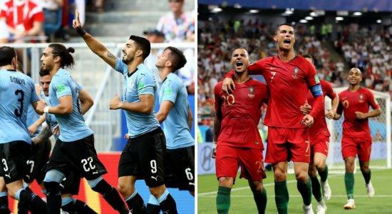 Com 100% de aproveitamento, Uruguai enfrenta Portugal de CR7