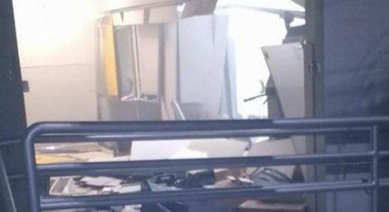 Grupo explode agência do Banco do Brasil em Pombos, na Mata Norte