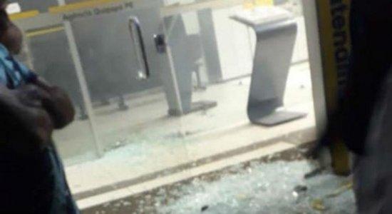 Banco do Brasil é alvo de explosão em Quipapá, na Mata Sul