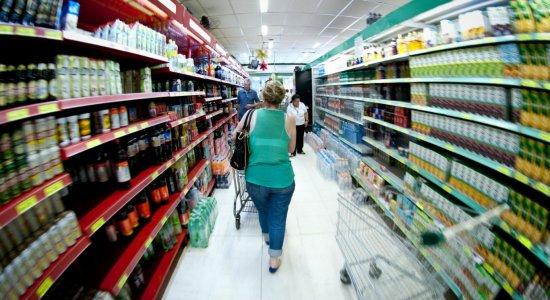 Preço da cesta básica sobe 5,06% na Região Metropolitana do Recife, diz Procon PE
