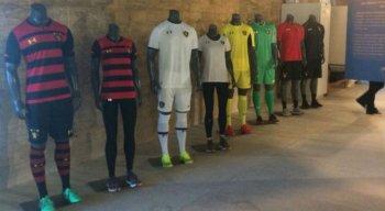 Exposição mostra novos uniformes do Sport