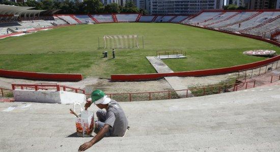 Torcida alvirrubra conta os dias para voltar para Estádio dos Aflitos