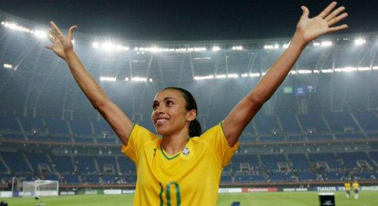 Marta defende esporte como ferramenta em busca da igualdade de gênero