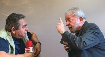 Lula em entrevista a Geraldo Freire