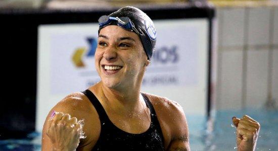 Nadadora Joanna Maranhão anuncia aposentadoria após quatro Olimpíadas