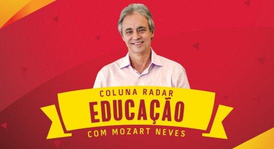 Mozart Neves está todas as quartas-feiras na Rádio Jornal com a coluna Educação
