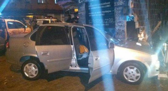 Perseguição policial termina com acidente e um preso no Cordeiro
