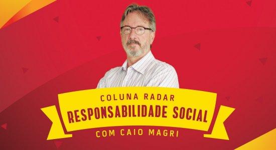 Caio Magri está todas as quintas-feiras na Rádio Jornal, com a coluna Responsabilidade Social