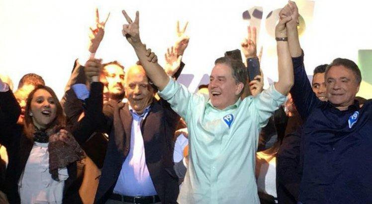 Álvaro Dias foi eleito pelo PV do Paraná em 2014