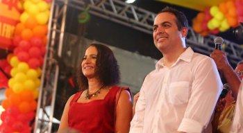 Luciana Santos (PCdoB) foi anunciada como vice de Paulo Câmara (PSB)