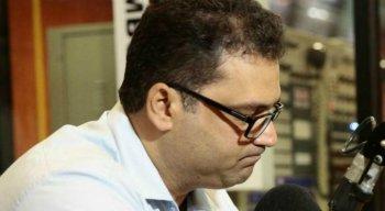 Edno Melo concedeu entrevista à Rádio Jornal durante a Super Manhã