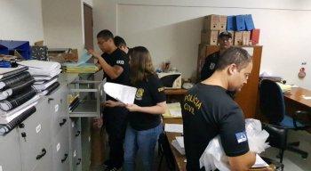 A Polícia Civil fez uma varredura na Câmara de Vereadores do Paulista