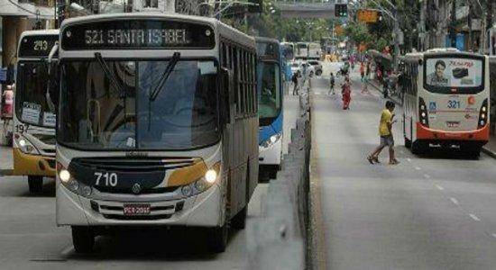 RMR: Sete ônibus foram alvos de assaltantes nas últimas 24h