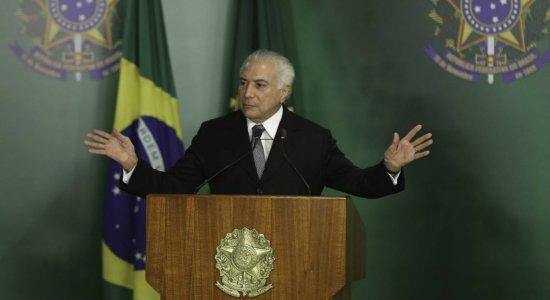 Michel Temer afirma que seu governo tirou o Brasil da crise