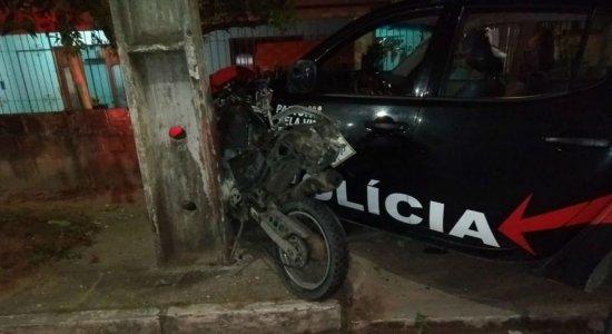 Dois suspeitos morrem após perseguição policial em Paulista