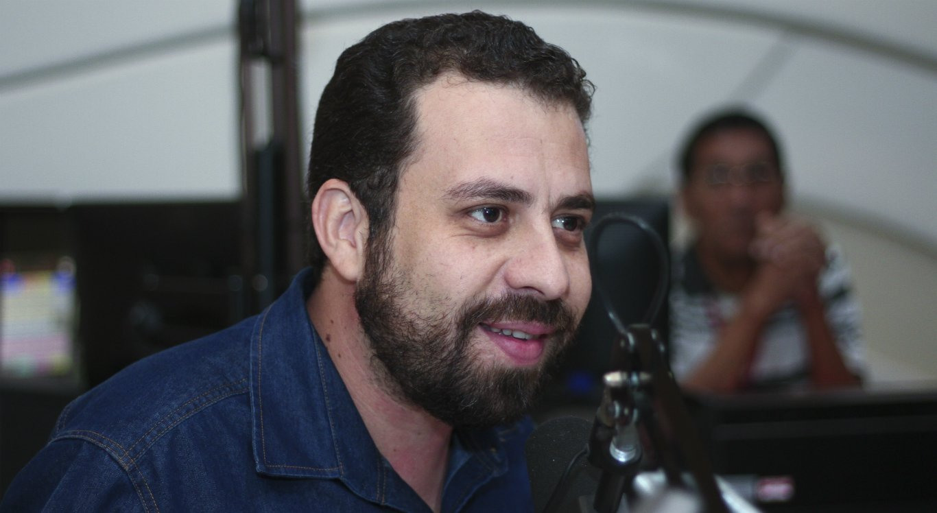 Guilherme Boulos é candidato a presidente pelo PSOL
